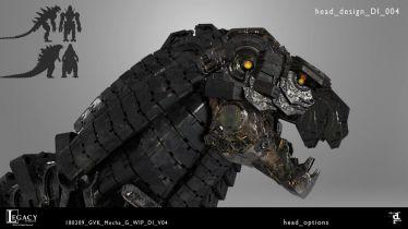 Godzilla Kontra Kong - MechaGodzilla na nowych grafikach. Artysta wyjaśnia inspiracje Terminatorem