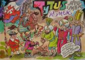 Tytus Romek i A'Tomek w Odsieczy Wiedeńskiej 1683, przez Papcia Chmiela narysowani