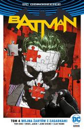 Batman #04: Wojna Żartów z Zagadkami