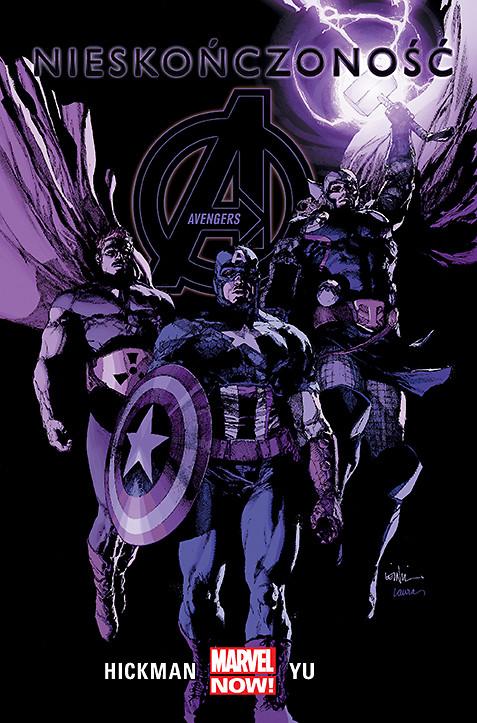 Avengers. Nieskończoność, tom 4 - okładka