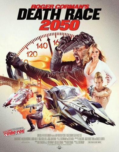 deat race 2050 - plakat