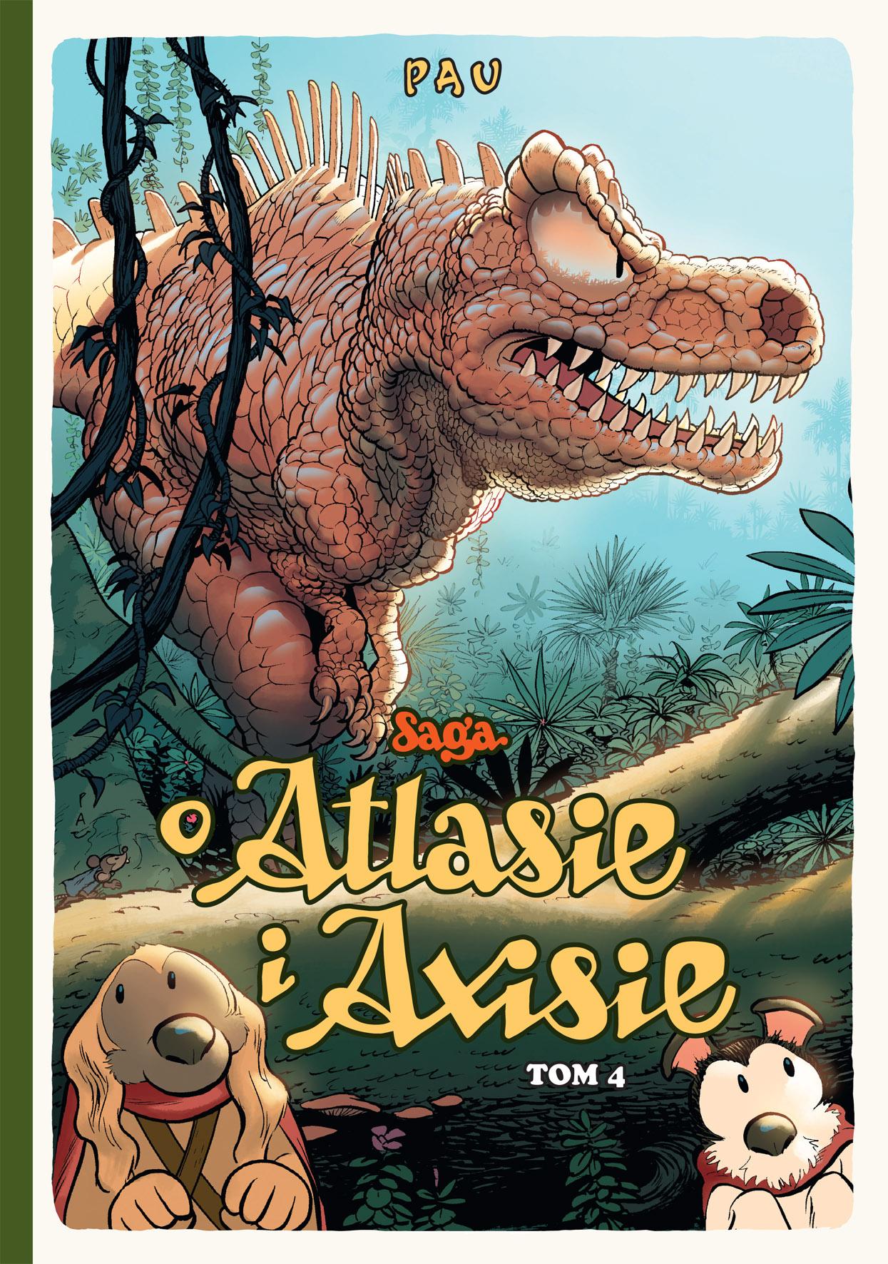 Saga o Atlasie i Axisie 4 - okładka