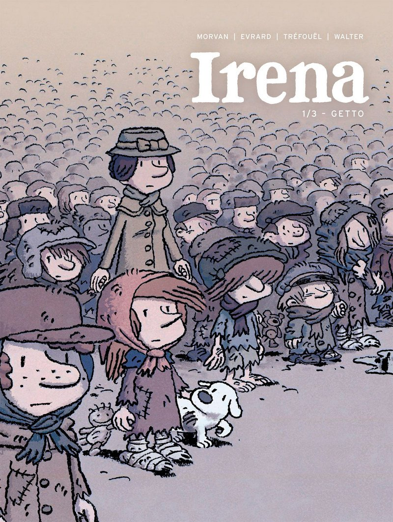 Irena 01. Getto - okładka