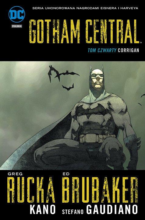 Gotham Central. Corrigan, tom 4 - okładka