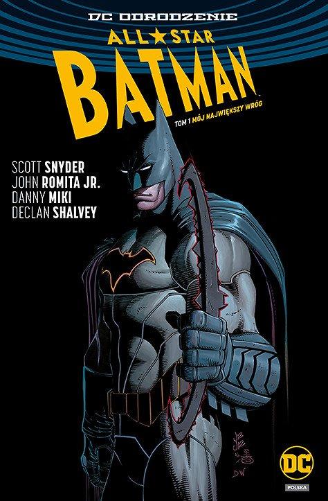 All-Star Batman – Mój największy wróg, tom 1 - okładka