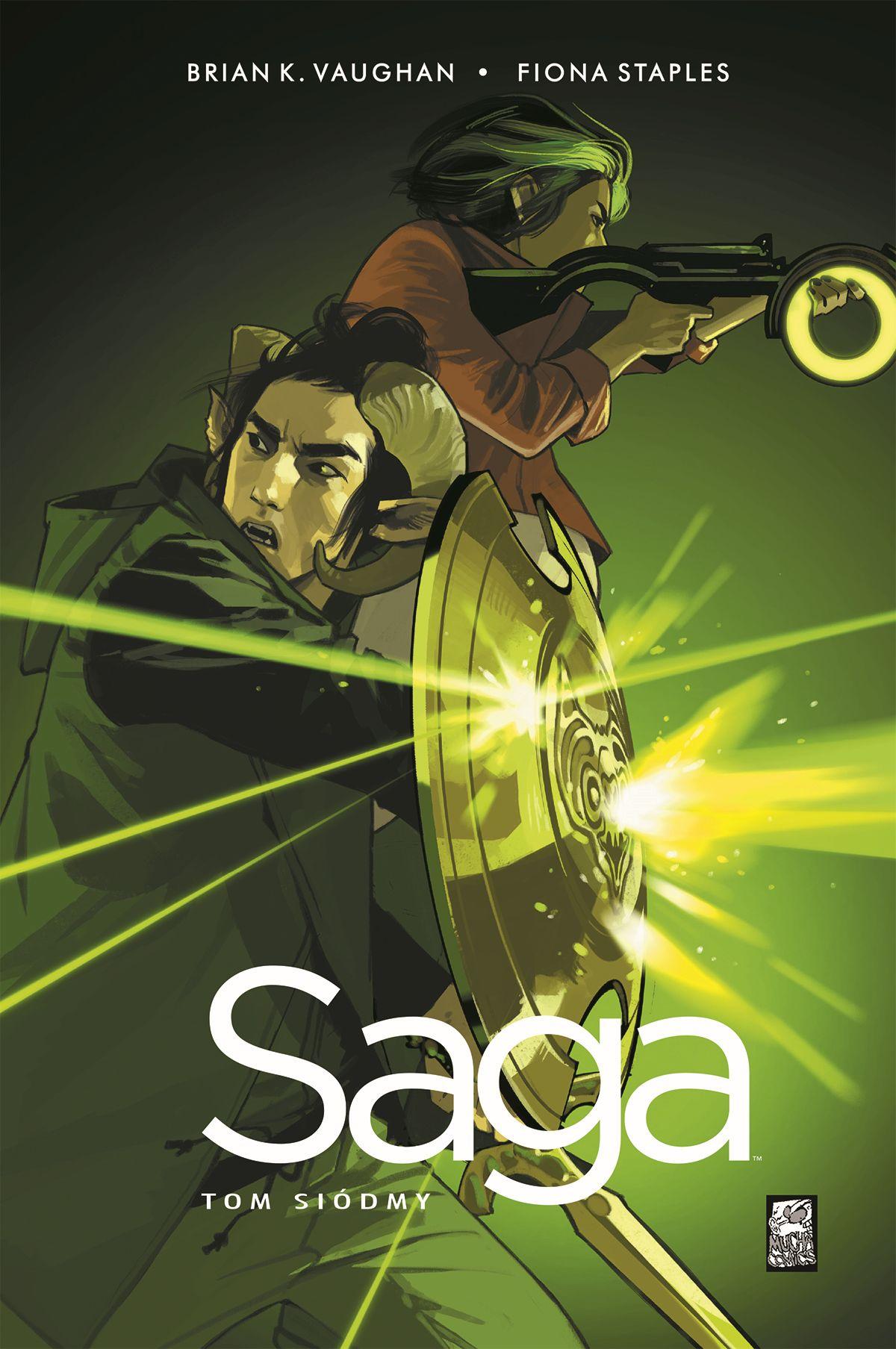 Saga #7 - okładka