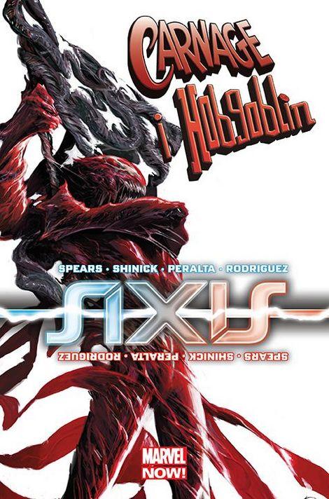 Axis - Carnage i Hobgoblin - okładka