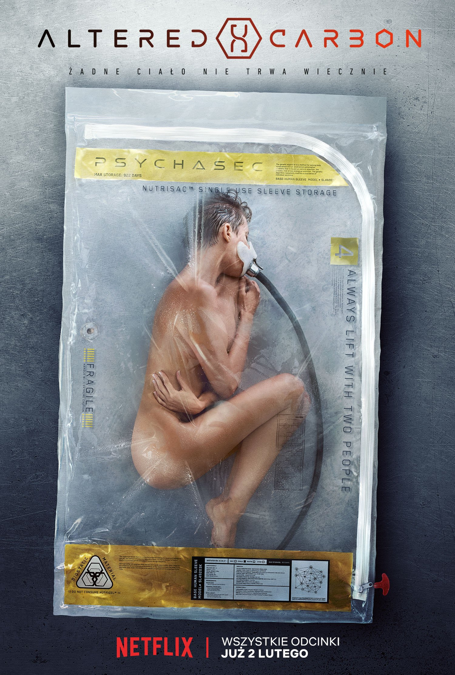 Altered Carbon - plakat