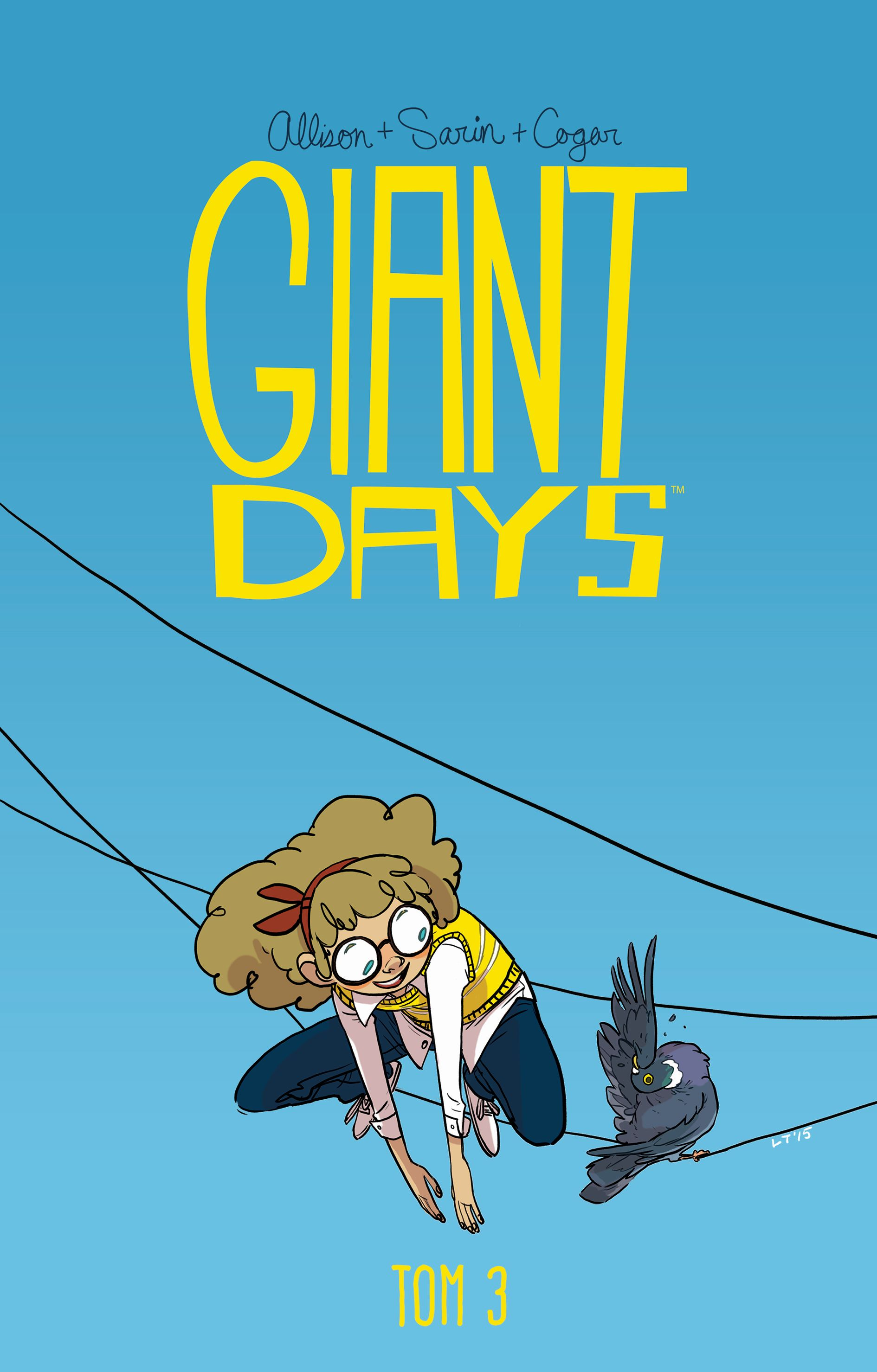 Giant Days, tom 3 - okładka
