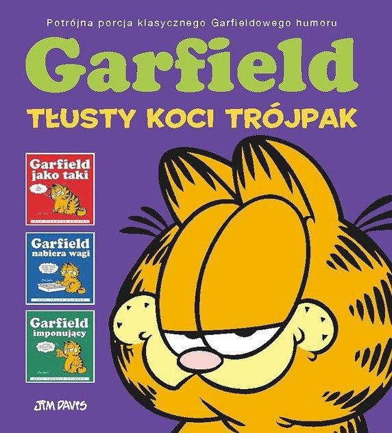 Garfield jako taki, tom 1 - okładka