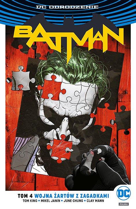 Batman – Wojna Żartów z Zagadkami, tom 4 - okładka