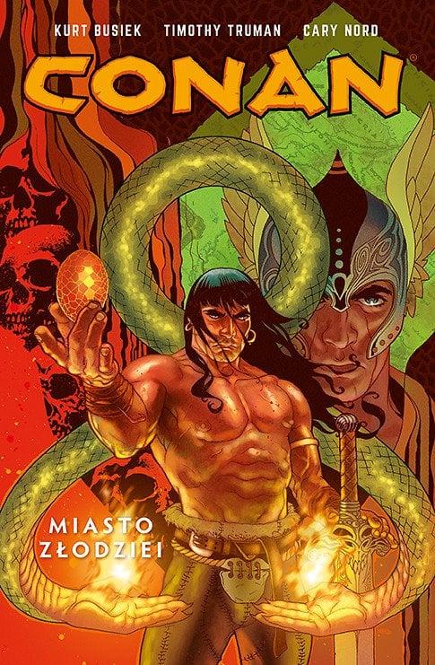 Conan. Miasto Złodziei, tom 2 - okładka