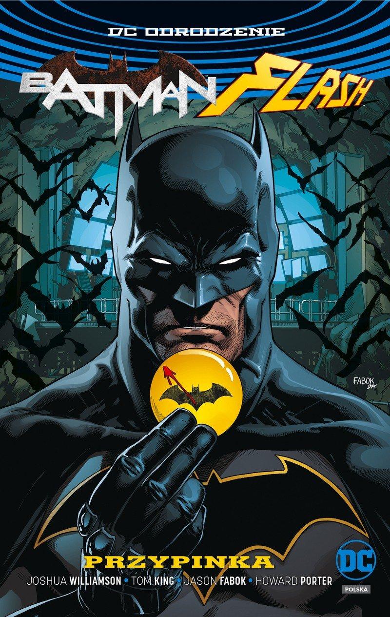 Batman Flash #01. Przypinka - okładka
