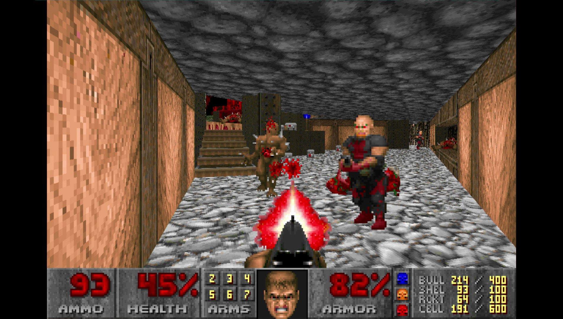 Doom (1993) - screeny z gry