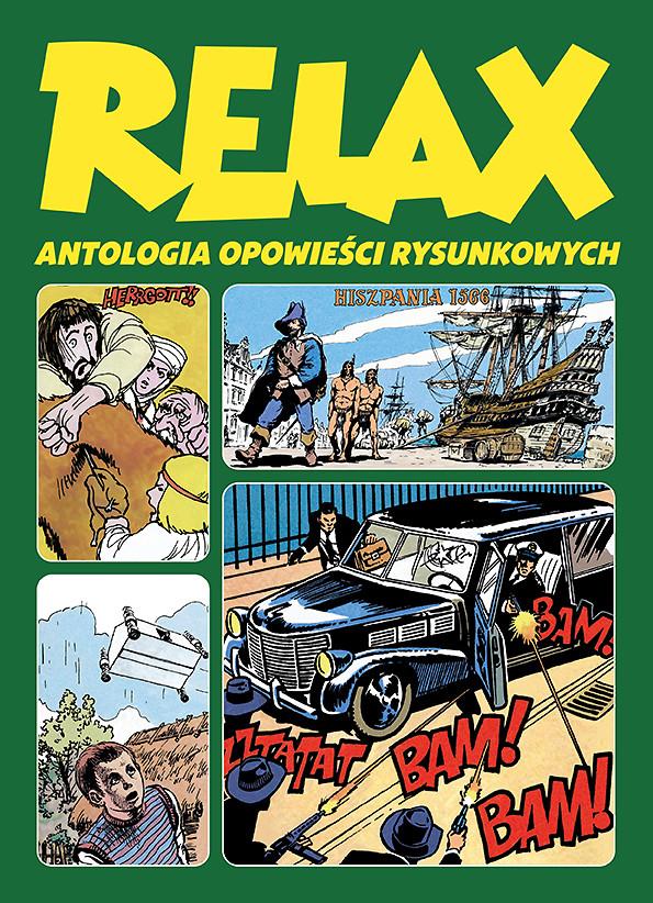 Relax. Antologia opowieści rysunkowych, tom 3 – okładka