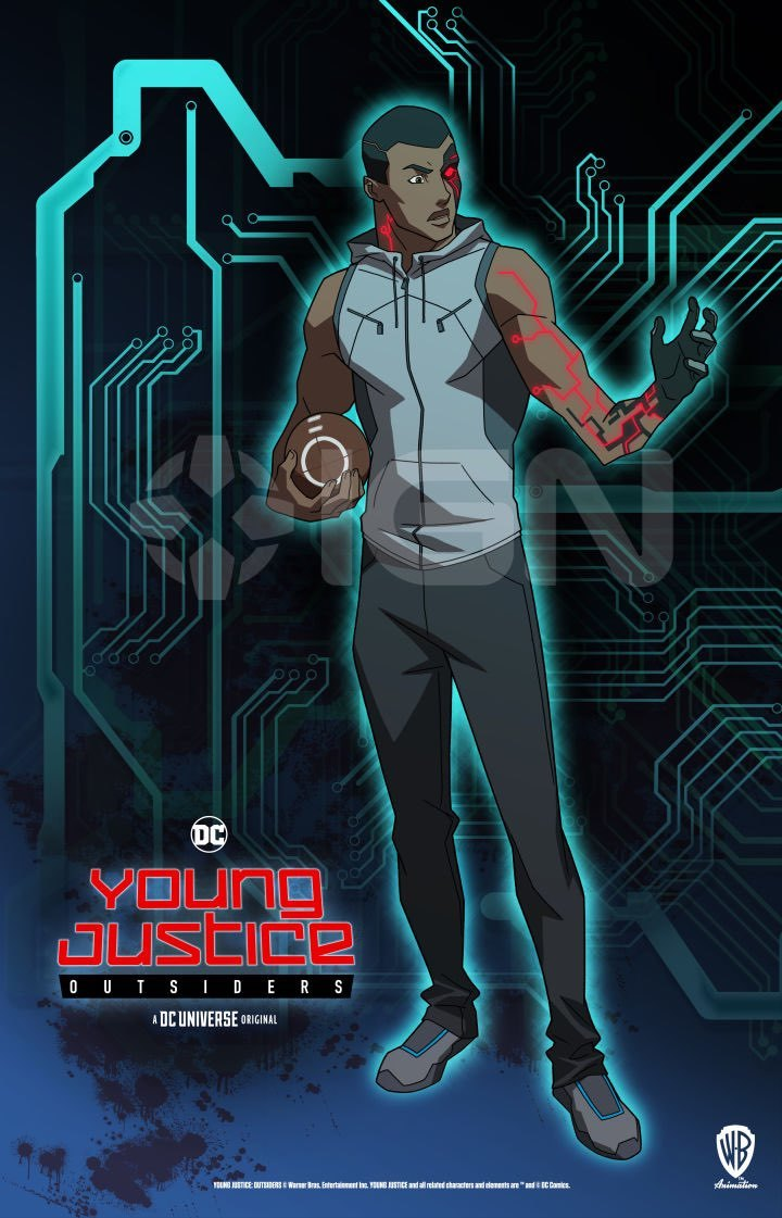 Young Justice Outsiders - Cyborg