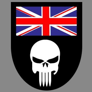 Czaszka komandosów SAS