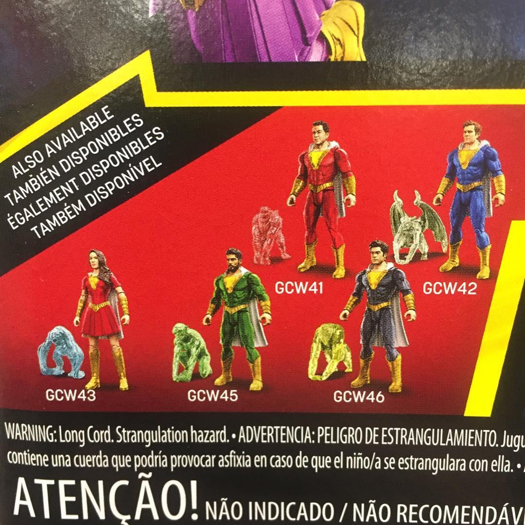 Shazam! - figurki kolekcjonerskie