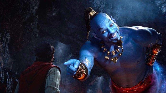 Aladyn - Will Smith jako dżin