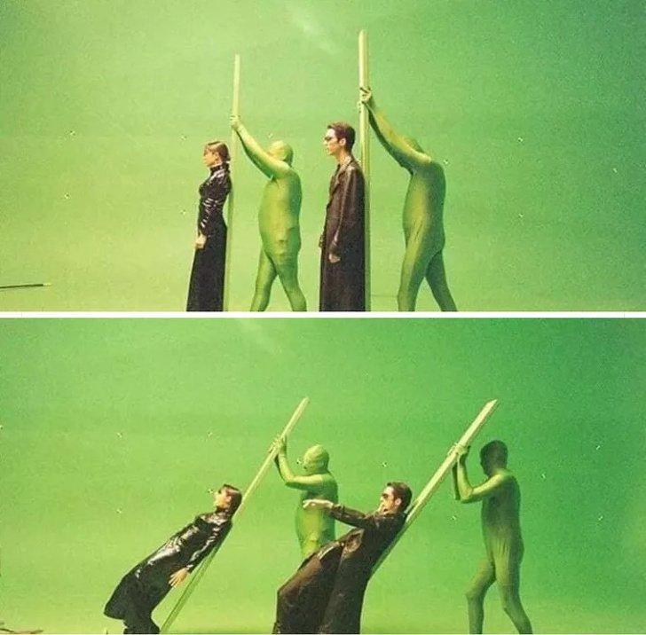 Matrix - zdjęcie zza kulis serii