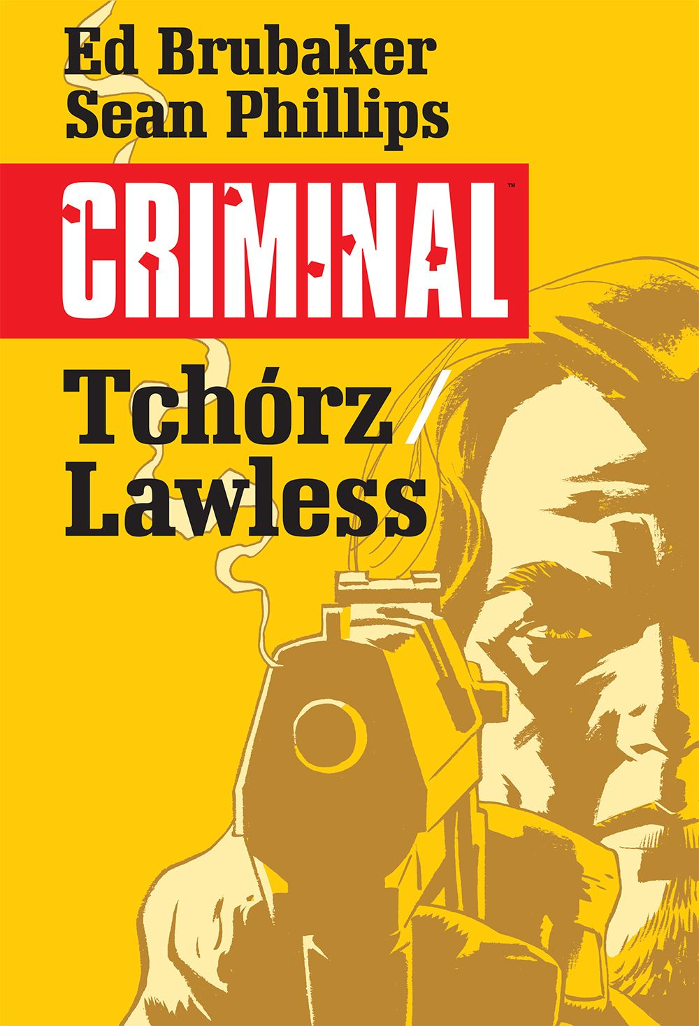 Criminal. Tchórz Lawless - okładka