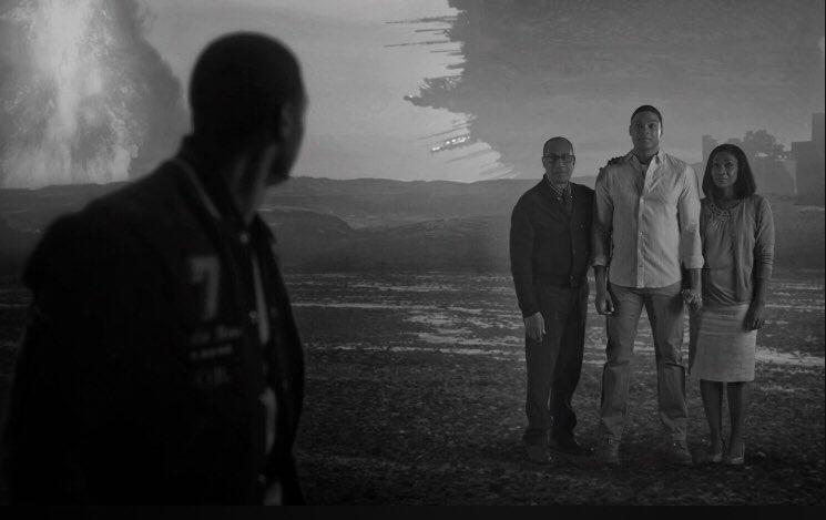 Liga Sprawiedliwości - zdjęcie z pierwotnej wersji filmu