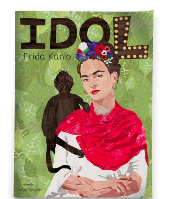 Idol. Frida Kahlo - okładka