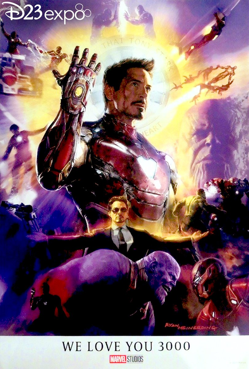 Avengers: Endgame - plakat z D23 Expo
