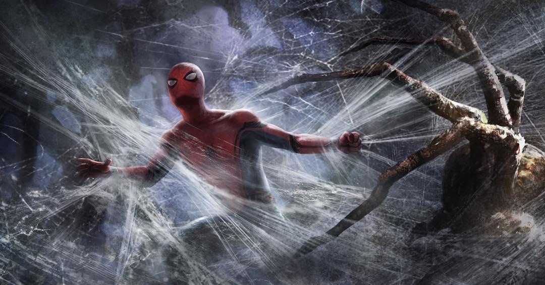 Spider-Man: Daleko od domu - szkic koncepcyjny