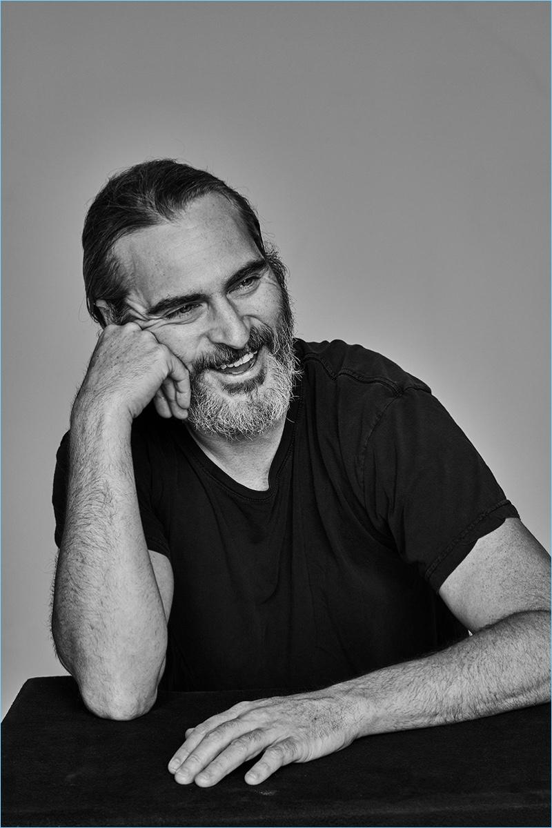 Joaquin Phoenix - sesja dla L'Officiel Hommes Paris