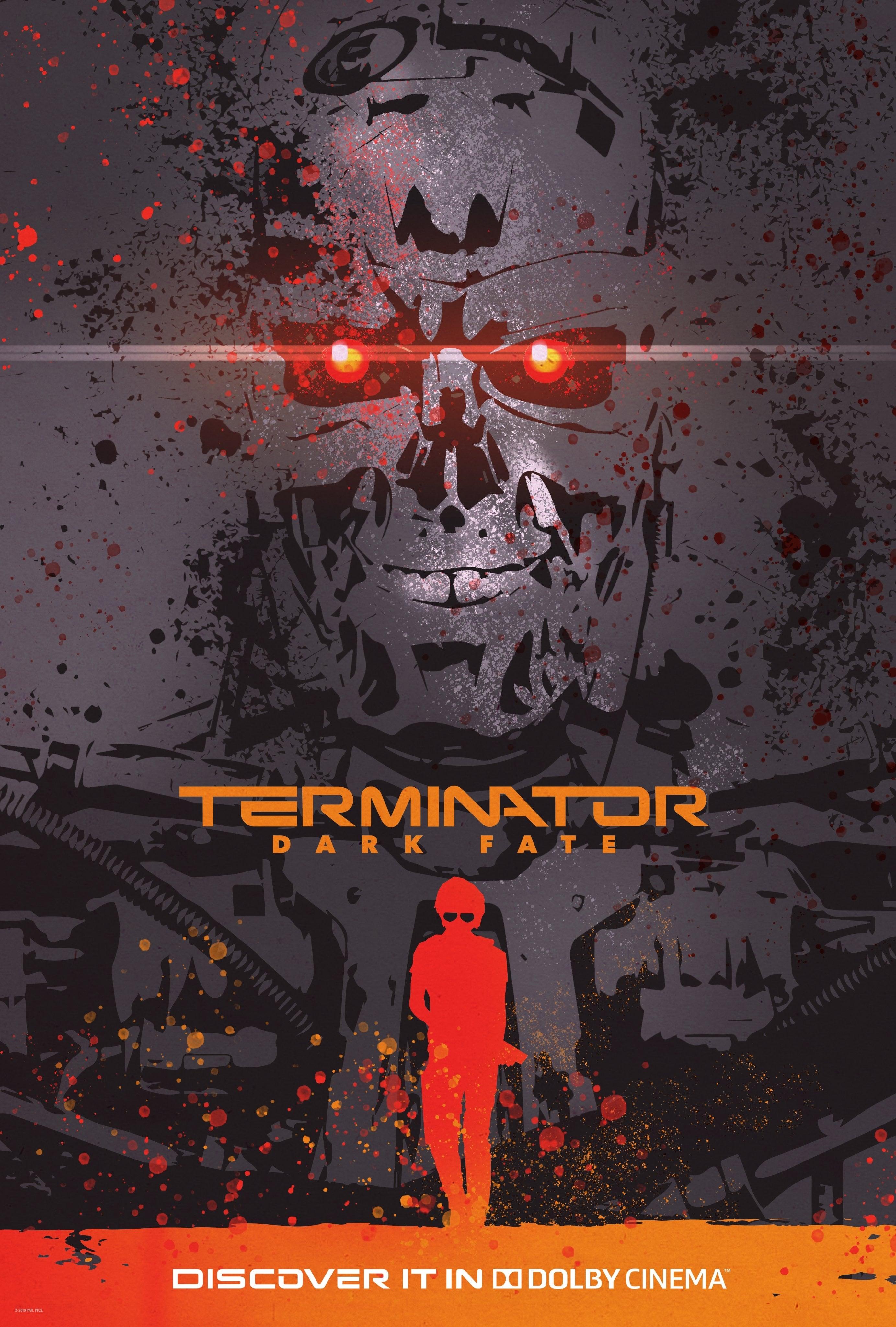 Terminator: Mroczne przeznaczenie plakat
