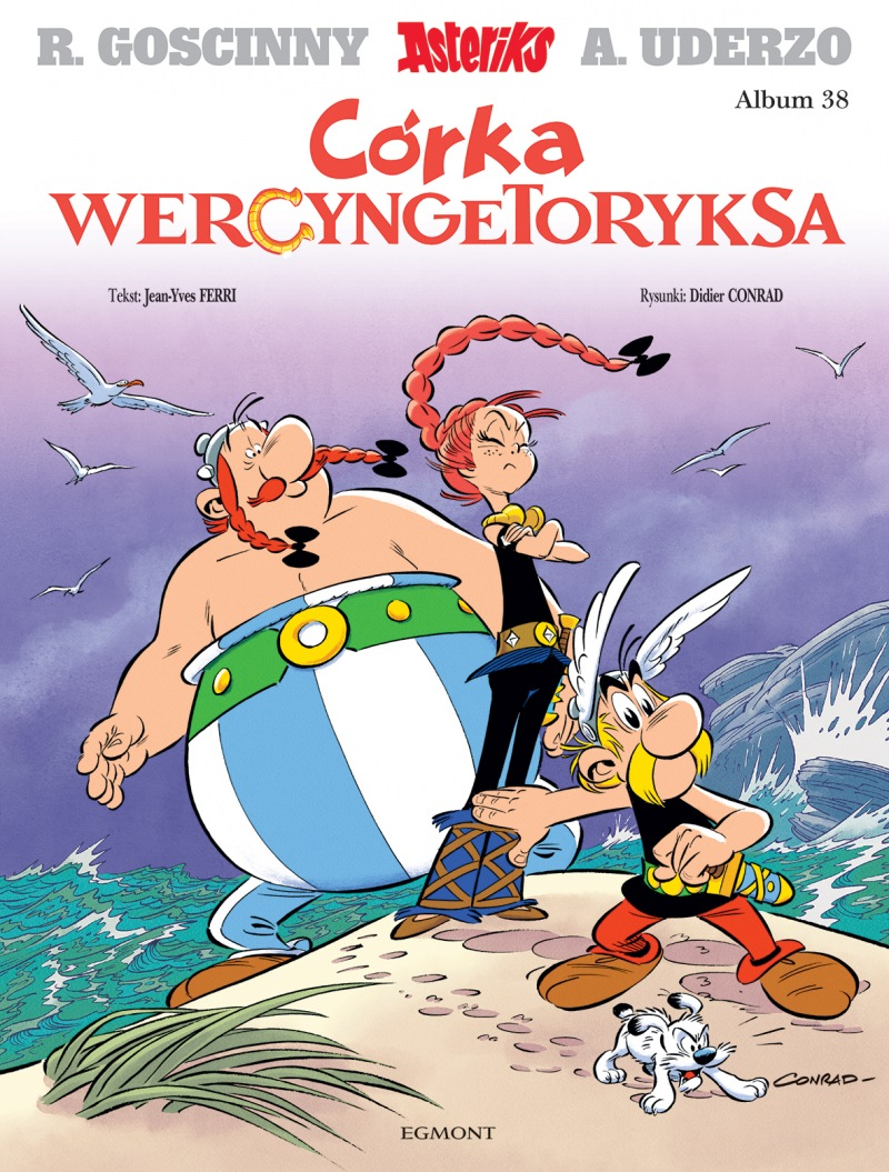 Asteriks. Córka Wercyngetoryksa - okładka