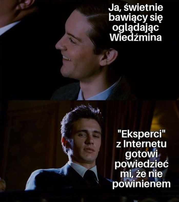Wiedźmin - mem
