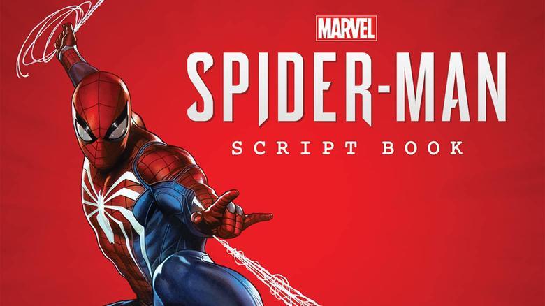 The Marvel's Spider-Man Script Book