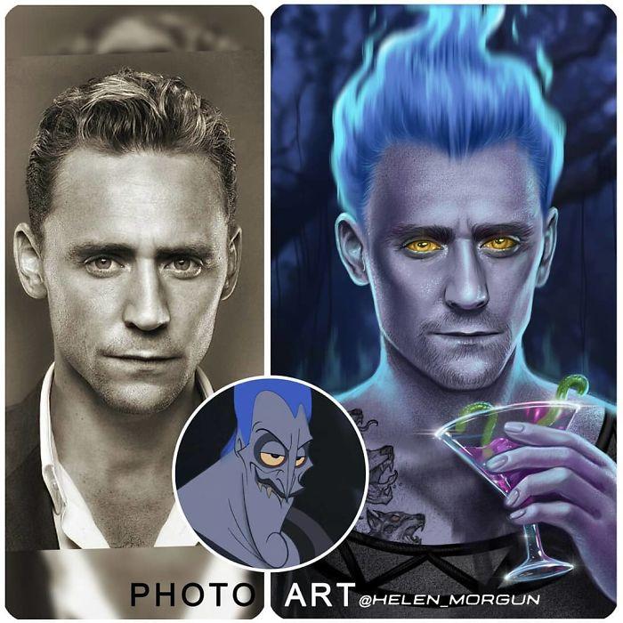 Tom Hiddleston jako Hades