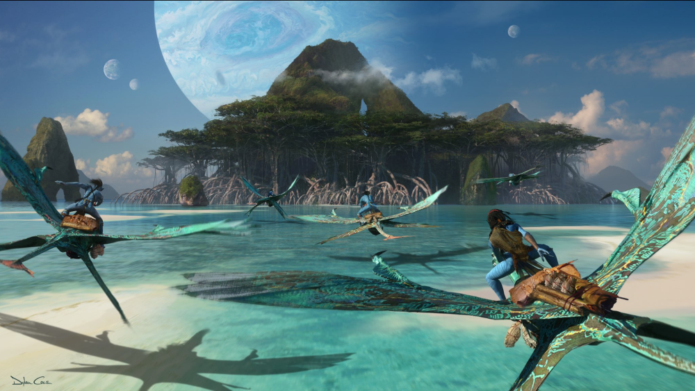 Avatar 2 - szkic koncepcyjny