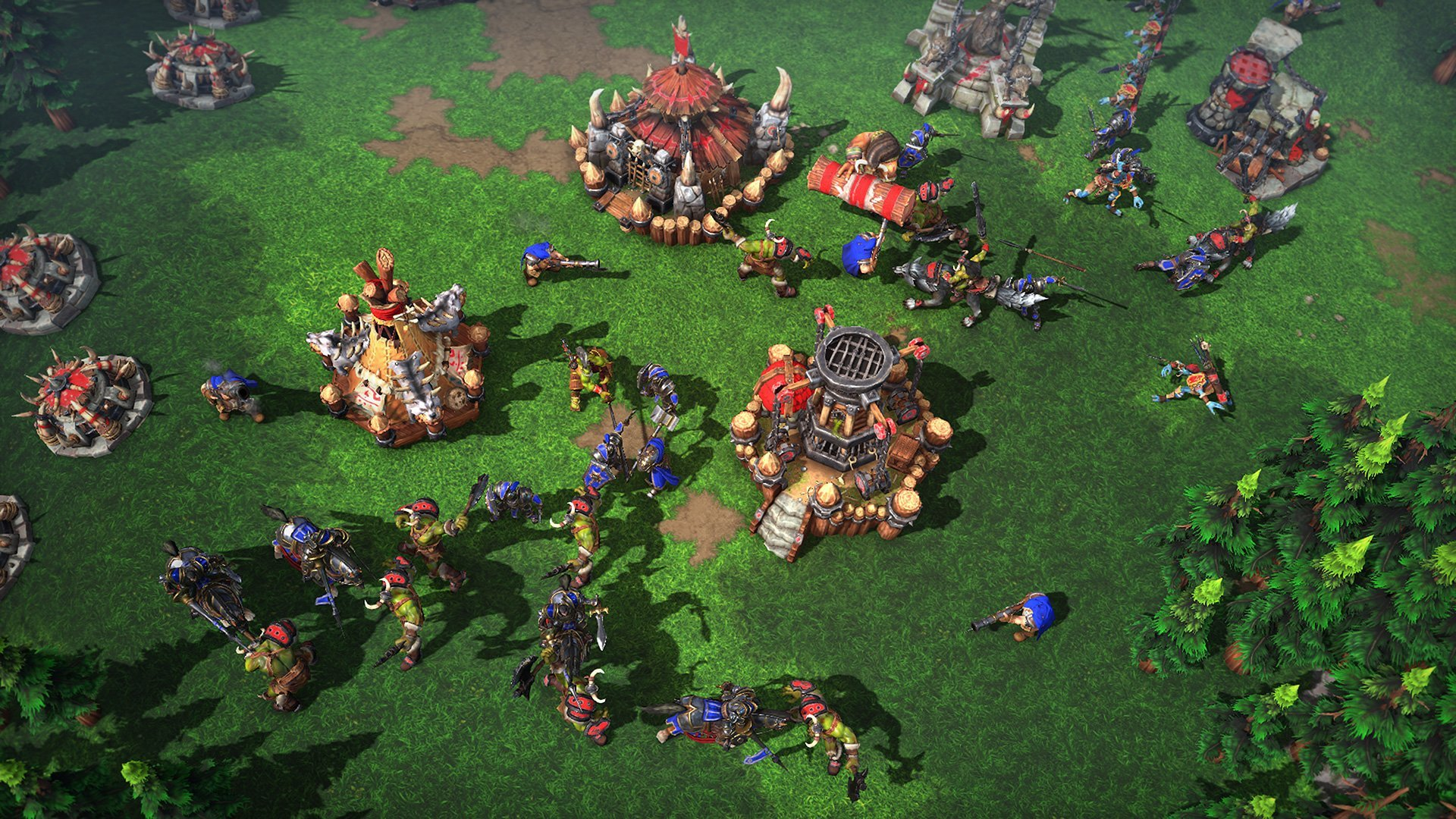 Warcraft 3: Reforged - screeny z gry