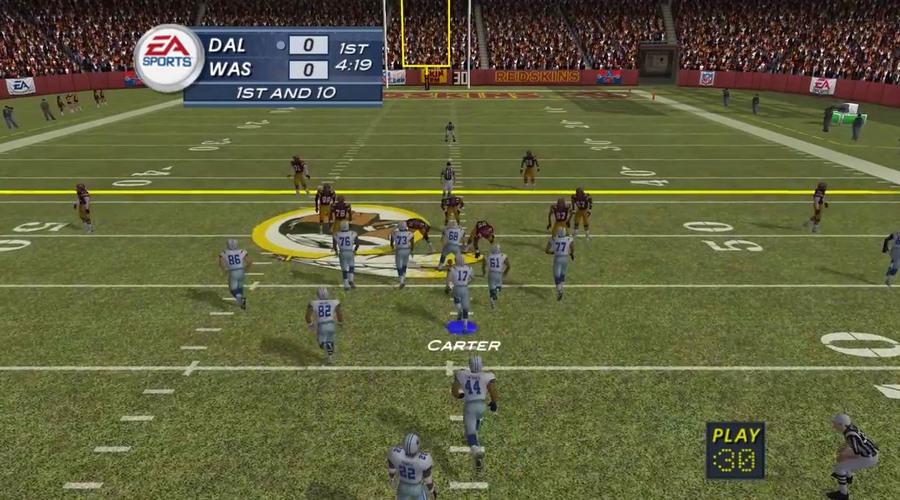 30. Madden NFL 2003 - średnia ocen na Metacritic: 95, średnia ocen od użytkowników: 7.5