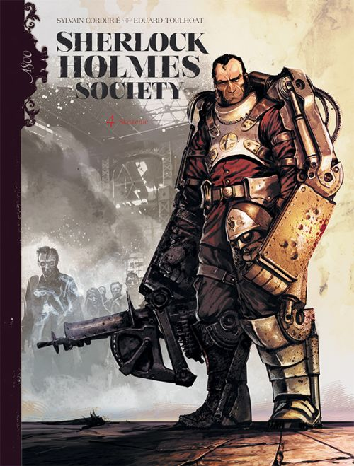 Sherlock Holmes Society Skażenie, tom 4 okładka