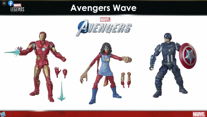 Marvel's Avengers - figurki od Hasbro