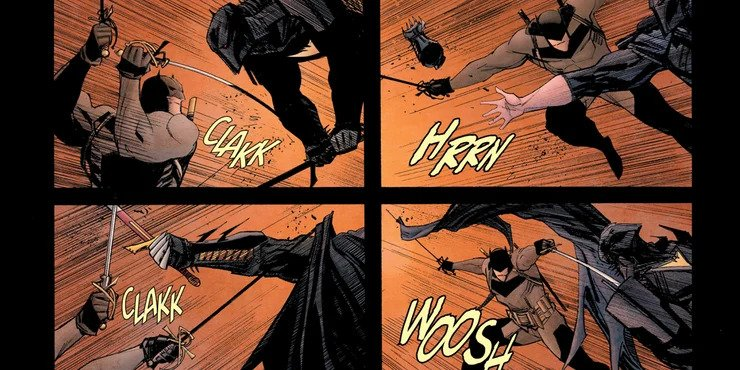 Batman: Curse of the White Knight #8 - plansze
