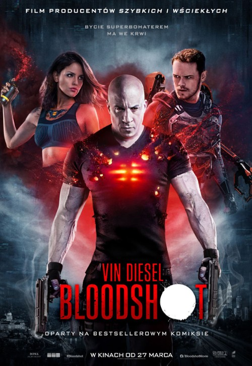Bloodshot - plakat