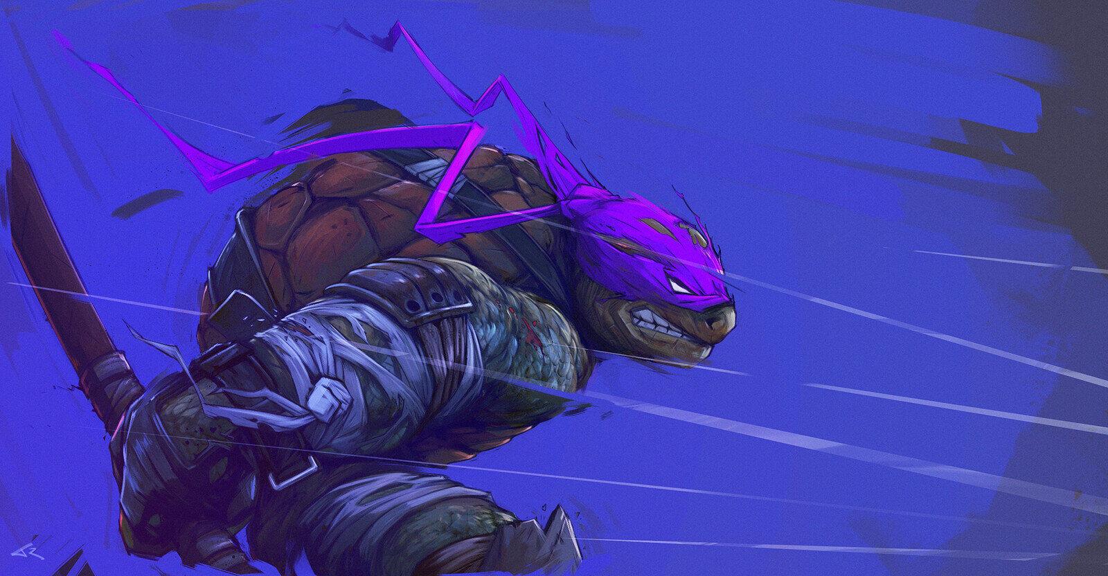 Wojownicze Żółwie Ninja fan-art