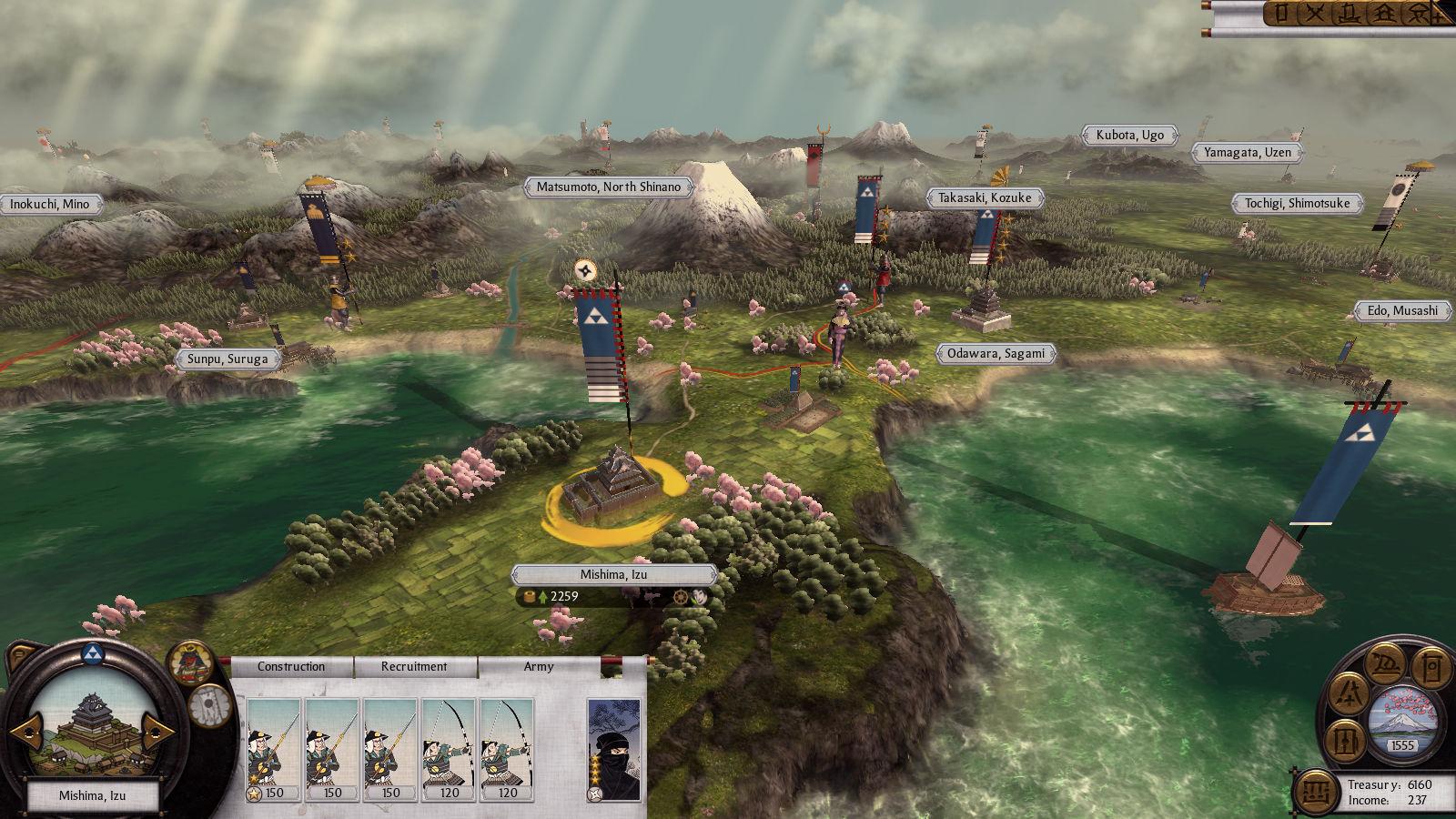 10. Total War: Shogun 2