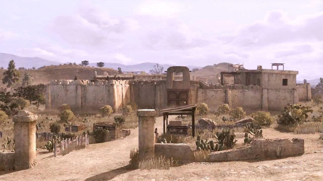 Atak na Fort Mercer – jedna z najbardziej spektakularnych scen akcji w grze