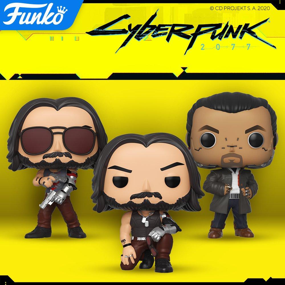 Cyberpunk 2077 - figurki Funko Pop