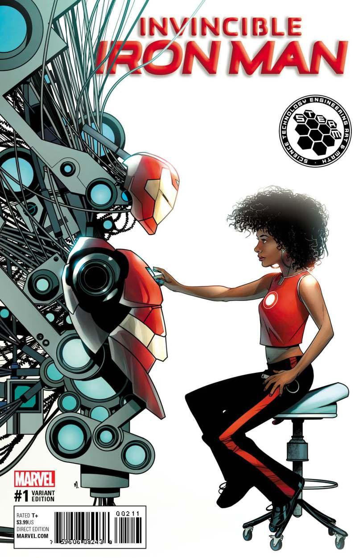 Ironheart - komiksy