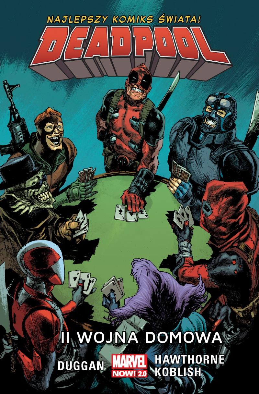 Deadpool #05. II wojna domowa - okładka