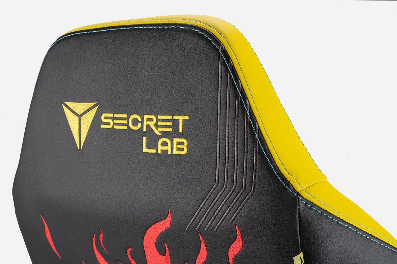 Cyberpunk 2077 - fotel od Secretlab