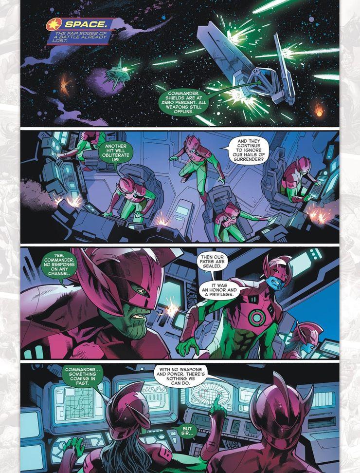 Captain Marvel #18 - plansze